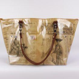Sac Cabas « La Mode Pratique » 1903 face avant