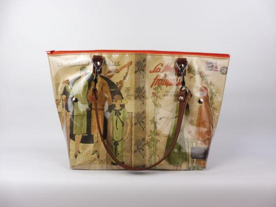 Sac Cabas «La Mode Française» de 1926 face avant