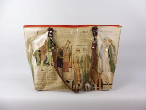 Sac Cabas « La Mode Française » de 1926 face arriere