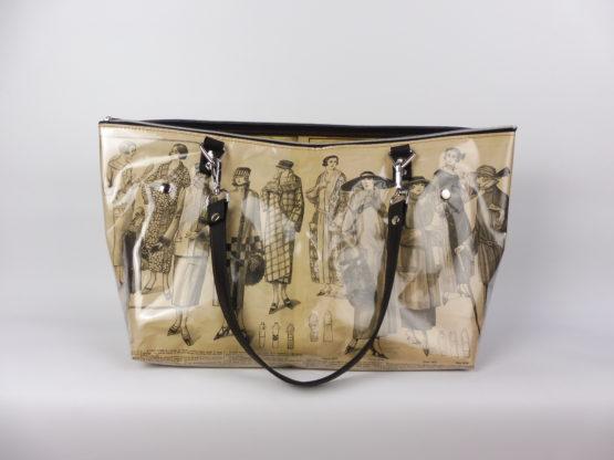Sac Cabas «La Mode Française» années 1920 face avant