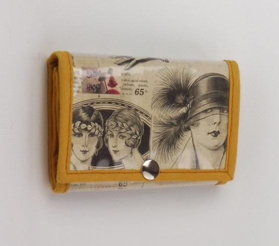 Porte Monnaie Chapeaux Années 20 face
